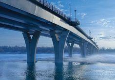 Liberty Memorial Bridge, North Dakota, USA  © Lafarge Library - Jack Clark