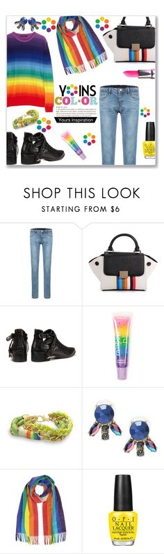 """COLOR"" by jckallan ❤ liked on Polyvore featuring мода, claire's, Lime Crime, women's clothing, women's fashion, women, female, woman, misses и juniors"