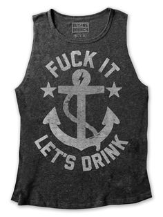 Let's Drink Muscle Tee