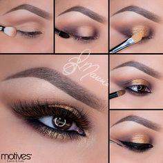 Cute Motives Cosmetics Tutorial by Professional Professional Makeup Tutorial - Hair Styles Motives Makeup, Eye Makeup, Makeup Tips, Makeup Ideas, Fast Makeup, Mascara, Pretty Makeup, Makeup Looks, Make Up Tutorials