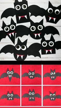 Diy Deco Halloween, Halloween Arts And Crafts, Halloween Decorations For Kids, Halloween Crafts For Toddlers, Theme Halloween, Toddler Crafts, Halloween Kids, Ideas For Halloween, Preschool Halloween