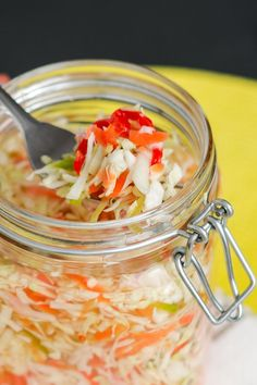 """If you like spicy food, this Haitian pikliz will give your taste buds a kick! This is a condiment that is accompanied with the popular Haitian dish called """"griot"""" its just like your average coleslaw but very spicy. Of course, when you make it at home you can adjust the amount of chillies depending on … Continue reading →"""