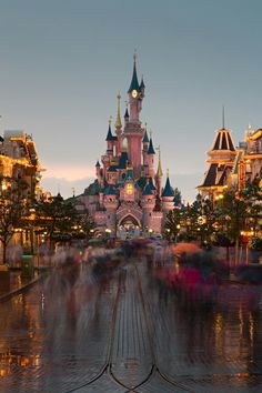 Disney World or Land... Ixm not sure which this is... but it's gorgeous!