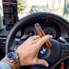 Cigars and cars | http://puroprestige.com | The art of smoking