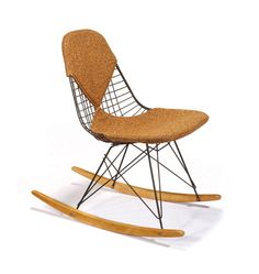 Charles & Ray Eames Rocker Executed c. 1952