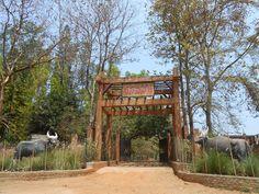 resort entrance gate - Google Search