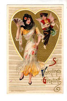 US2204 Postcard Artist Samuel L Schmucker by John Winsch Valentine 1910