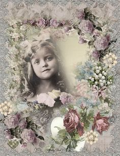 Digital Collage sheet - vintage, instant downloading, Dreams Two - backgrounds - tags - cards via Etsy