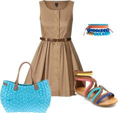 """""""Summer Chic"""" by tsartin001 on Polyvore"""