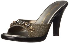 Athena Alexander Womens Cameo Dress Sandal Sparkle 11 M US *** Want additional info? Click on the image.