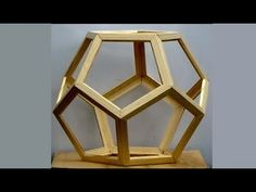 Making a Dodecahedron the Easy Way.