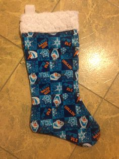 Frozen's Olaf Christmas stocking by MountainPeakBoutique
