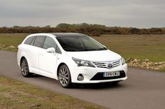 Toyota's Avensis Tourer is a big family car but its cheaper to run. #familycar