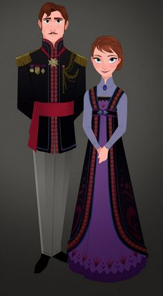 Costume Designs from Frozen by Brittney Lee