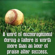 Encouragement vs. Praise