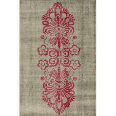 Found it at Wayfair - Delicati Pink Area Rug