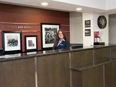Ann Arbor (MI) Hampton Inn Ann Arbor - North Hotel United States, North America Located in Thurston, Hampton Inn Ann Arbor - North Hotel is a perfect starting point from which to explore Ann Arbor (MI). The hotel offers a wide range of amenities and perks to ensure you have a great time. 24-hour front desk, facilities for disabled guests, express check-in/check-out, luggage storage, Wi-Fi in public areas are there for guest's enjoyment. Comfortable guestrooms ensure a good nig...