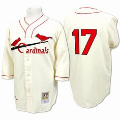 St. Louis Cardinals Authentic 1934 Dizzy Dean Home Jersey by Mitchell & Ness - MLB.com Shop