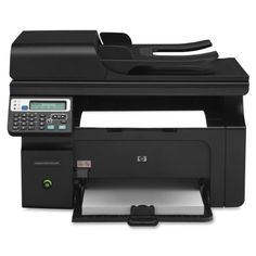 HP LaserJet Pro M1217nfw Monochrome All-in-One Printer Print high-quality documents with bold text and sharp images, using Original HP print cartridges. Share a printing network using built-in Ethernet. Send and receive faxes from your PC, using 33.6 kbps fax. Work from anywhere in the office using built-in wireless. Monochrome - Up to 19 ppm print speed.