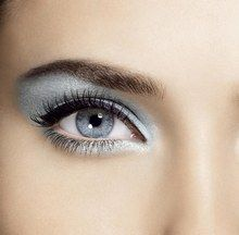 "blue and silver eye makeup ""It is four years ago . . . ."" eye makeup?"