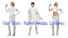 Padme Amidala Costumes from Star Wars - How to make your own Padme costume!