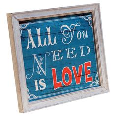 All You Need Music Words, Motivational Messages, Construction Materials, Wall Decor, Wall Art, All You Need Is Love, New Wall, Joss And Main, Wood Colors