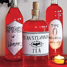 Halloween Decorations from All You  | Stock a Sinister Bar | MyRecipes.com