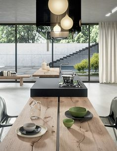 Nice 100+ Sleek and Inspiring Modern Contemporary Kitchens https://decorspace.net/100-sleek-and-inspiring-modern-contemporary-kitchens/