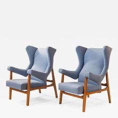 Pair of Italian Upholstered Fiorenza Armchairs