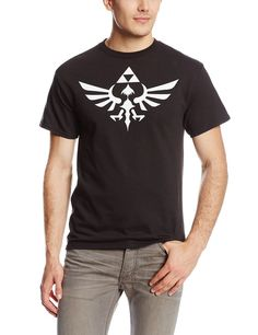 The Legend Of Zelda Triumphant Triforce Shirt - Black (XX-Large): This Nintendo Legend of Zelda T-shirt features the Tri-Force on a cotton tee. Nerd Outfits, Anime Outfits, Zelda Logo, Sun Models, Teen Boy Fashion, Mens Flip Flops, Black Media, Branded T Shirts, Cool T Shirts