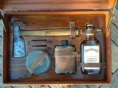 Gentleman's Survival Kit- Minus the tenni honey I'd say a swell kit
