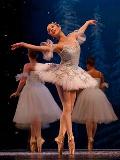 Onstage and Backstage at the Nutcracker, 2011 - Photo by Richard Calmes