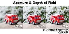 Aperture and Depth of Field Here are simple steps on how to shoot in aperture priority mode:  1. Turn the dial to A(Nikon cameras) or Av(Canon cameras) 2. Set your ISO. (This is always one of the first things you should do. In plenty of daylight: Keep your ISO low at 100 or 200, In low light indoors: Keep your ISO high at 800 or 1600) 3. Dial your aperture value to according to your need or taste. 4. Shoot, shoot and shoot!