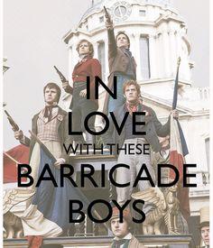 I love my barricade boys <3