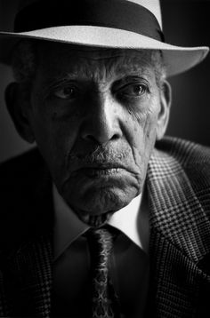 Compay Segundo (1907-2003) - Cuban trova guitarist, singer and composer, 1988 // Photo by Donata Wenders