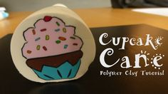Cupcake Cane - Polymer Clay Tutorial Video by Fimohoekje