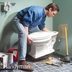 Learn how to fix the four most common causes of leaks under the toilet.