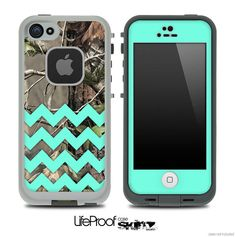 Items similar to Camo & Trendy Green Chevron With Solid Front Print Skin for the iPhone or 5 LifeProof Case on Etsy Iphone 5s, Iphone Phone Cases, Iphone 7 Plus Cases, Iphone Case Covers, Country Phone Cases, Camo Phone Cases, Future Iphone, Green Chevron, 6s Plus