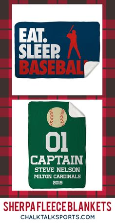 Our sherpa fleece blankets are great for nights by the fire with hot chocolate in hand, or weekends on the field where you can feel that breeze. Many can be personalized as a great gift for your favorite baseball player! Gifts For Baseball Players, Baseball Gifts, Fleece Blankets, Cozy Blankets, Baseball Room Decor, Personalised Frames, Room Signs, Hot Chocolate, Breeze