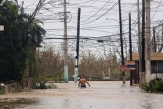 Hurricane Maria unleashed widespread devastation and power outages after making landfall Wednesday as the strongest hurricane to strike Puerto Rico in more than 80 years.