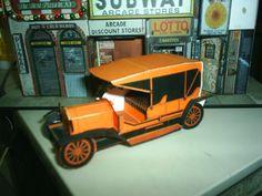 PAPERMAU: Vintage Paper Cars - Carros Antigos