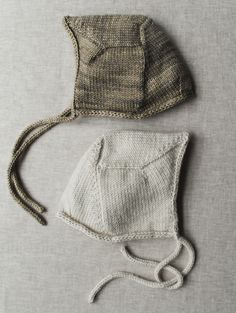 Whit's Knits: Baby Bonnet - Knitting Crochet Sewing Crafts Patterns and Ideas! - the purl bee
