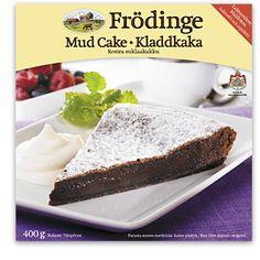 Mud Cake (Kostea suklaakakku)  Frödinge Mejeri Mud Cake, Chocolate Coffee, Banana Bread, Pudding, Treats, Desserts, Food, Sweet Like Candy, Tailgate Desserts