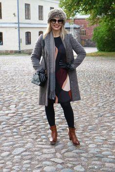 DOPPwoman: Tyylikkäästi villakangastakeissa Suomenlinnan maisemissa