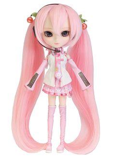 Buy Vocaloid - Hatsune Miku - Pullip - Pullip (Line) - - Sakura Miku (Groove)  from Solaris Japan. Paint Brands, Dream Doll, Kawaii, Bjd Dolls, Marvel Movies, Hatsune Miku, Fashion Dolls, Anime, Artsy