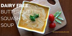 Dairy Free Butternut Squash Soup RecipeMarch 7, 2016 by Becca Leave a Comment