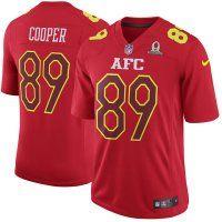 Men's Oakland Raiders #89 Amari Cooper 2017 NFL Pro Bowl Jerseys