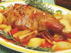 Cabrito Assado no Forno Beer Recipes, Cake Recipes, Portuguese Recipes, Pot Roast, Tapas, Food And Drink, Turkey, Favorite Recipes, Meat Recipes