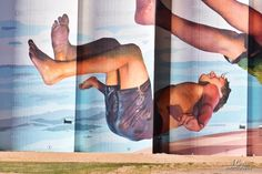 Martin Ron – South Australia Silo Art Trail –Tumby Bay were completed in Photo Credit Annette Green South Australia, Western Australia, Street Art News, Building Art, Little Fish, Water Tower, Urban Art, New Art, Photo Credit