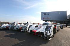 LeMans winning Audi race cars 2000 – 2014